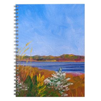 Golden Delaware River Notebook