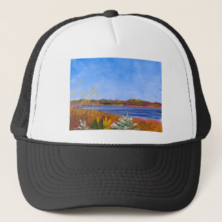 Golden Delaware River Trucker Hat