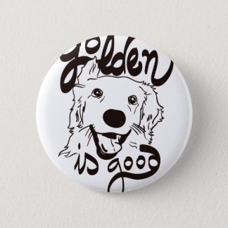 Golden Delicious is Good 2 Inch Round Button