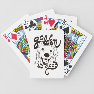 Golden Delicious is Good Bicycle Playing Cards