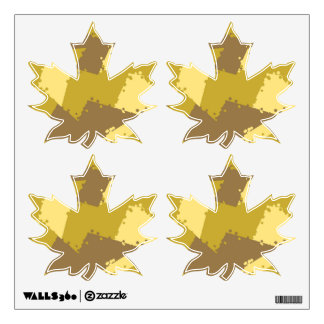 Golden Desert Camo Custom Wall Decal