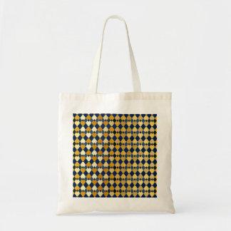 Golden diamonds tote bag