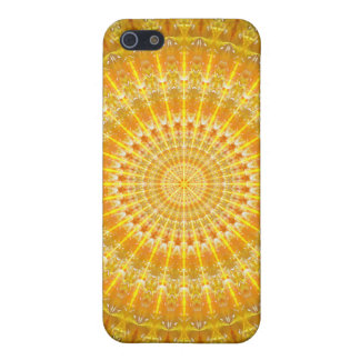 Golden Disc of Secrets Mandala iPhone 5 Case
