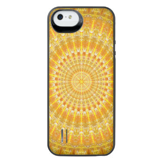 Golden Disc of Secrets Mandala iPhone SE/5/5s Battery Case