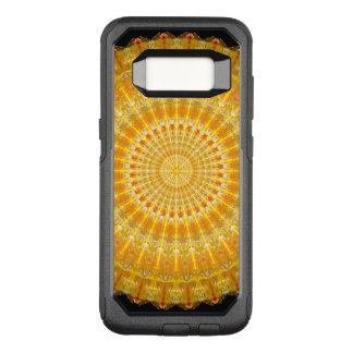 Golden Disc of Secrets Mandala OtterBox Commuter Samsung Galaxy S8 Case