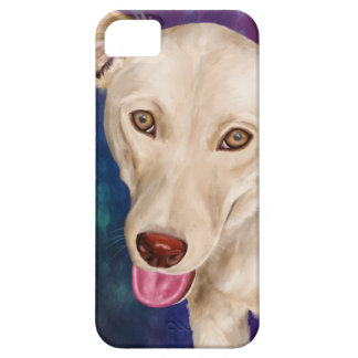 Golden Dog with a Strawberry Like Nose iPhone 5 Cases