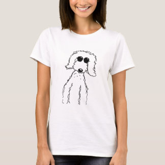 Golden Doodle in Sunglasses T-Shirt