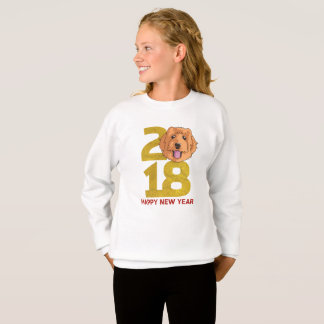 Golden Doodle Year of the Dog 2018 New Year Shirt