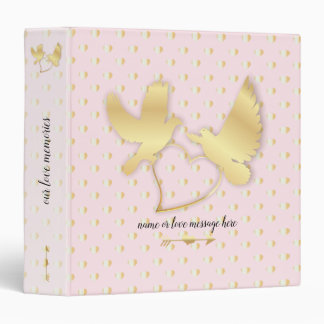Golden Doves with a Golden Heart, Gentle Love Binder