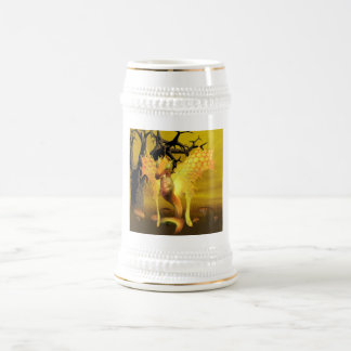 Golden Dragon Beer Stein
