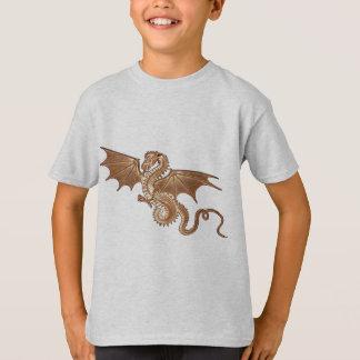 golden dragon children's t-shirt