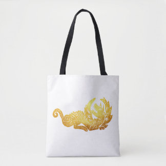 Golden Dragon Custom All-Over-Print Tote Bag