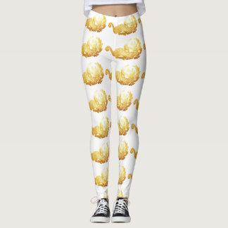 Golden Dragon  Custom Leggings