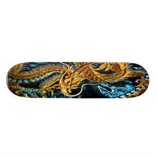 Golden Dragon Skateboard