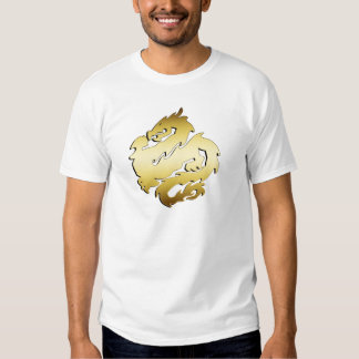 GOLDEN DRAGON TEE SHIRTS