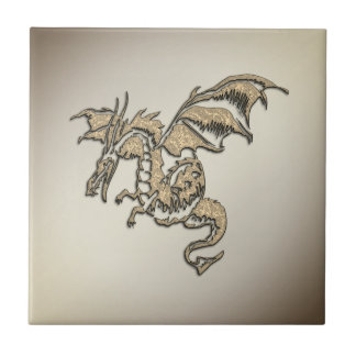 Golden Dragon Tile