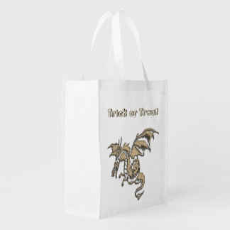 Golden Dragon Trick or Treat Bag