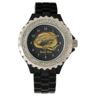 Golden Dragon Wrist Watches