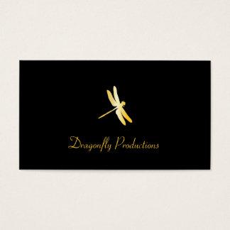 Golden Dragonfly Business Card