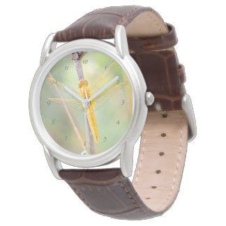 Golden Dragonfly Watch