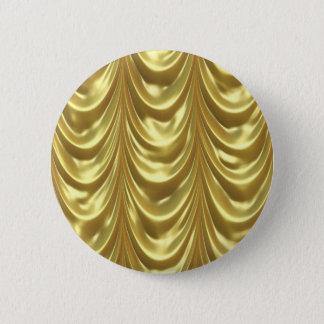 Golden Drapes 2 Inch Round Button