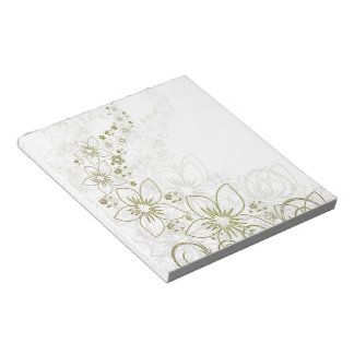 Golden Dream Land Notepad