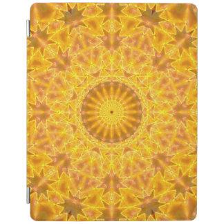 Golden Dreams Mandala iPad Cover