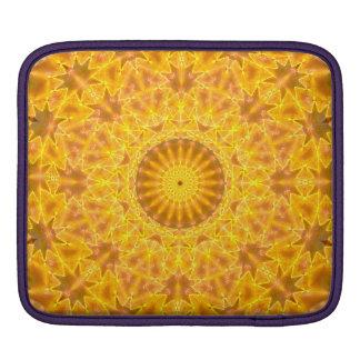 Golden Dreams Mandala iPad Sleeves