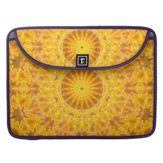 Golden Dreams Mandala Sleeves For MacBook Pro