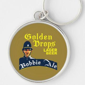 Golden Drops / Bobbie Ale Keychain
