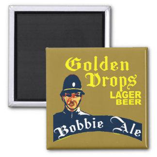 Golden Drops / Bobbie Ale Magnet