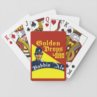 Golden Drops / Bobbie Ale Playing Cards