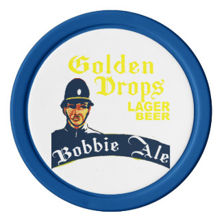 Golden Drops / Bobbie Ale Poker Chips