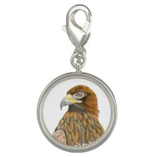 Golden Eagle Bird Watercolour Painting Artwork Photo Charms