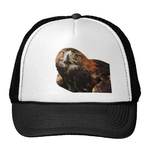 Golden Eagle Trucker Hat