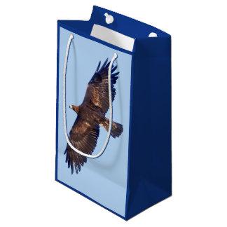 Golden Eagle in Flight Gift Bag
