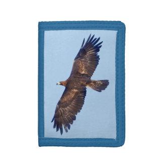 Golden Eagle in Flight Wallet