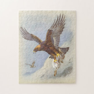 Golden Eagle Jigsaw Puzzle