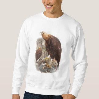 Golden Eagle John Gould Birds of Great Britain Sweatshirt
