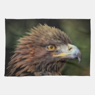 Golden eagle kitchen towel