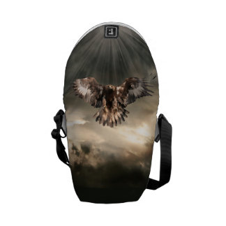 Golden Eagle Messenger Bag