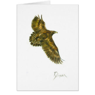 Golden Eagle Note Card