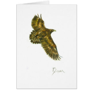 Golden Eagle Note/Greeting Card