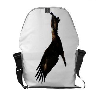 Golden Eagle Soaring Messenger Bag