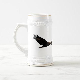 Golden Eagle Soaring Coffee Mug