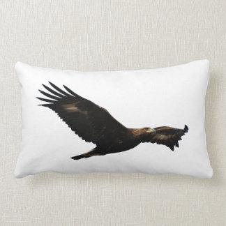 Golden Eagle Soaring Pillows