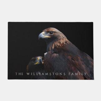 Golden Eagles: Beauties Thru the Bars Doormat