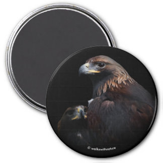 Golden Eagles: Beauties Thru the Bars Magnet