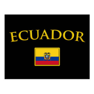 Golden Ecuador Postcard