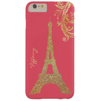 Golden Eiffel Tower Custom iPhone 6 Plus Case